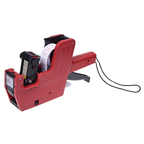 TOOGOO(R) Price Gun MX-5500 Retail Store Pricing Tag Label (Compact Handheld Labeler)