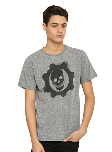 Hot Topic Gears Of War Cog Logo T-Shirt (Gears Of War 4 Rise Of The Horde)