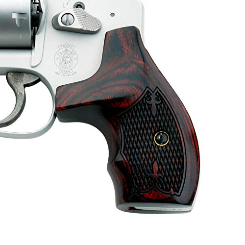 Altamont - S&W J Round Revolver Grips - Real Wood Gun for sale  Delivered anywhere in USA