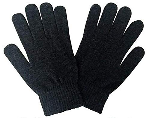 Unieco Men & Women Cozy Knitted Woolen Winter Gloves – Unisex Thermal Gloves – Comfy and Warm – Free Size