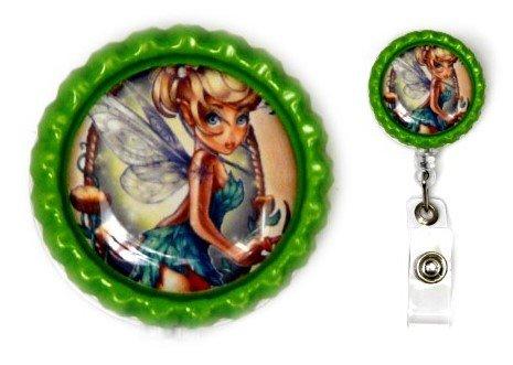 Princess Tattoo Pin-up Decorative Badge Holder (Tinkerbell)