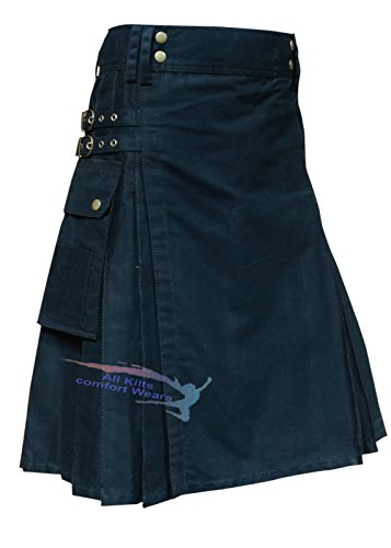 New Men Fashion Kilt Utility Kilt For The Active Men And Wedding Kilt ()
