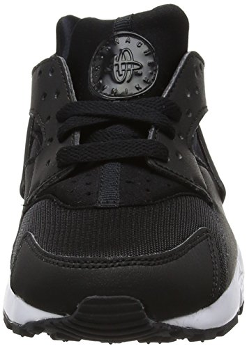 Nike Huarache Run (GS), Zapatillas de Running Para Niños Negro / Blanco (Black / White)