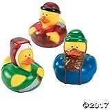 Lumberjack Rubber Duckies - 12 ct