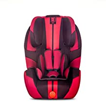 Plus Thick Car Child Safety Seat September -12 Years Old,Red