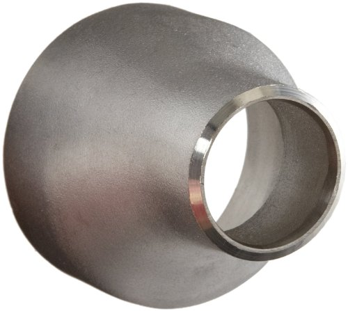 Stainless Steel 304/304L Pipe Fitting, Eccentric Reducer Coupling, Butt-Weld, Schedule 10, 1-1/2