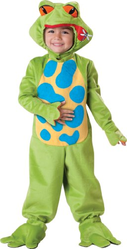 InCharacter Costumes Baby's Lil Froggy Toddler Costume, Green, Medium - Lil' Froggy Toddler Costumes