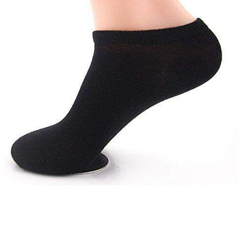 Men's No Show Compression Socks-SKT Socks Men Pack(10Packs)