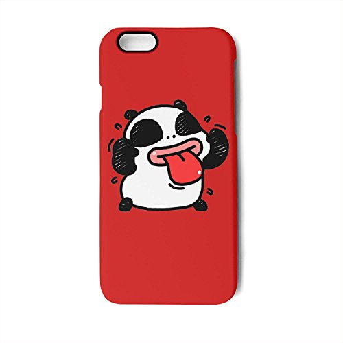 Cute panda bear tongue fashion design Mobile phone case for iphone7 Plus iphone8 Plus iphone -
