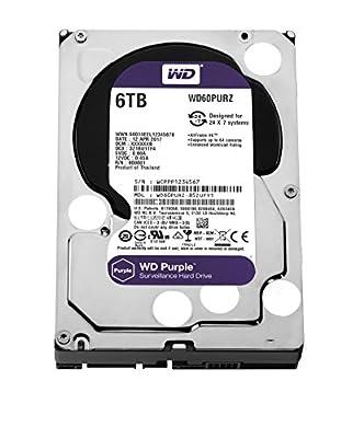 WD Purple Surveillance Hard Disk Drive - 5400 RPM Class SATA 6 Gb/s 3.5 Inch by WD