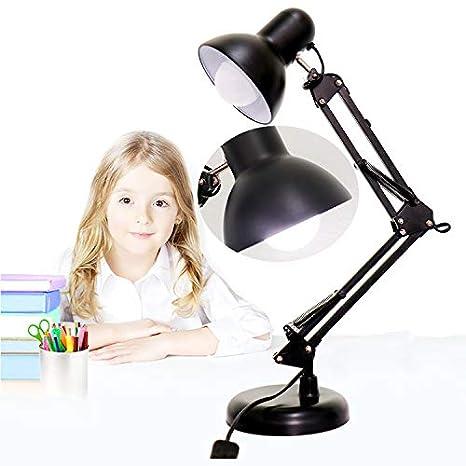 Hongsheng Lámpara De Mesa Ajustable LED con Soporte para Lámpara ...