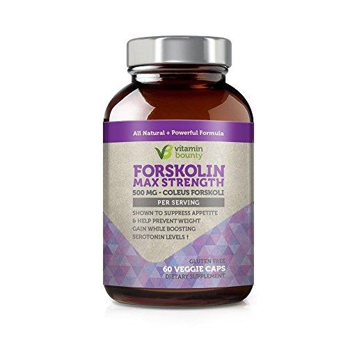 Vitamin Bounty - Forskolin 500mg - 60ct
