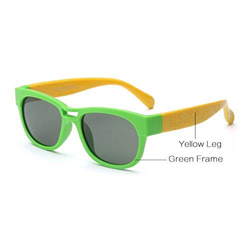 a Negro Eyewear de Flexible Ni Amarillo Rojo Sobre Sol de para os polarizadas os Gafas Verde 2 9 para Pynxn os con Sol Marcos Ni Silicone Gafas xqw6WOz1g