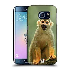 Head Case Designs Common Squirrel Monkey Famous Animals Protective Snap-on Hard Back Case Cover for Samsung Galaxy S6 edge G925