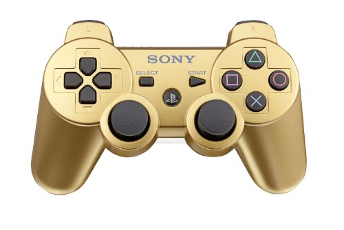 (PlayStation 3 DualShock 3 wireless controller - Metallic Gold)