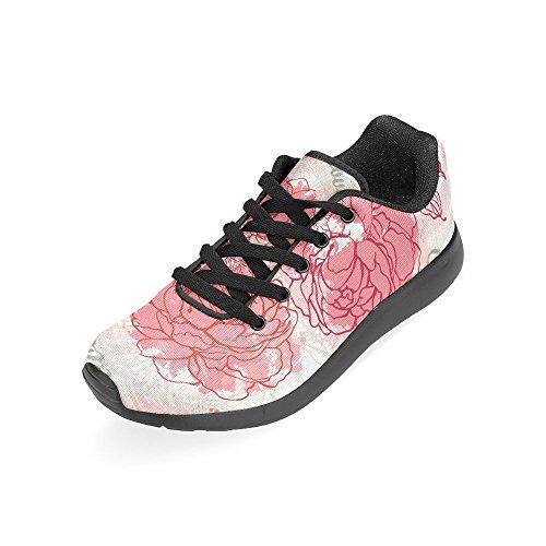 Interestprint Mujeres Jogging Running Sneaker Ligero Go Easy Walking Comfort Deportes Zapatos Deportivos Multi 2