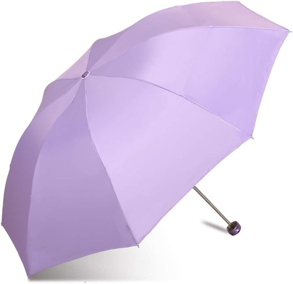 JUNDY Paraguas Plegable a Prueba de Viento de la protección Solar de la Moda Paraguas Protección UV Protector Solar sombrilla sombrilla colour11 98cm: Amazon.es: Hogar