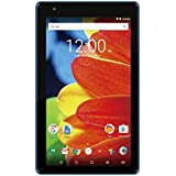 RCA Premium High Performance Voyager 7 16GB Touchscreen Tablet Computer Quad-Core 1.2Ghz Processor 1G Memory 16GB Hard Drive Webcam Wifi Bluetooth Android 6.0-Blue