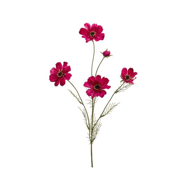 32″ Silk Cosmos Flower Spray -Beauty (Pack of 12)