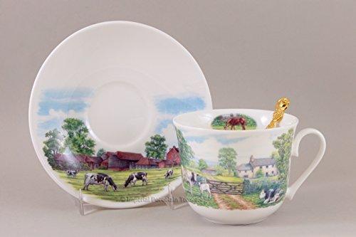 Porcelain Breakfast Cup - 6