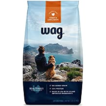 Amazon Brand - Wag Dry Dog Food Trial-Size Bag, No Added Grain, Turkey & Lentil Recipe