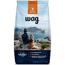 WAG Amazon Brand Dry Dog Food Trial-Size Bag, No Added Grain, Turkey & Lentil Recipe