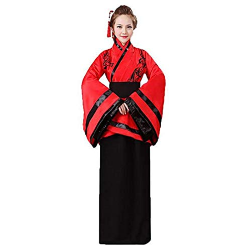 Ez-sofei Women's Ancient Chinese Han Dynasty Traditional Costume Set Hanfu Dresses -