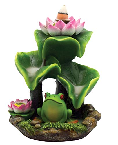 - Fantasy Gifts Frog Back Flow Burner