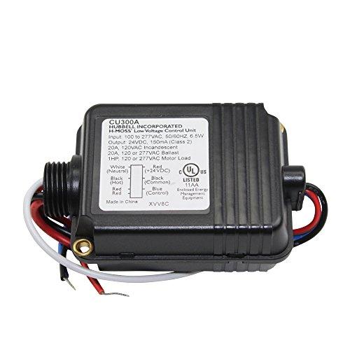 hubbell-cu300a-120-277v-h-moss-occupancy-sensor-low-voltage-control-unit-20a
