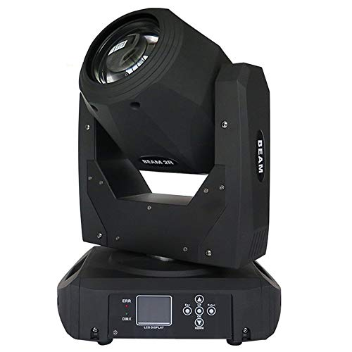 (Toran Home Moving Head Light 2R 132W Fast Colorful Disco Light 14 Colors Stage Light 16/20 DMX Channels DJ Stage Wedding Light )