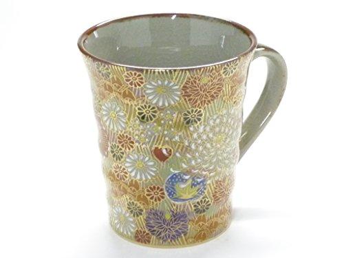 Kutani chinaware [ Mug ] Kim Hanazume by Kutaniyaki SakaiHyakkaen