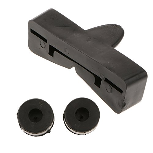 (Homyl Motorcycle Black Fuel Tank Rubber Mounting Cushion Kit for Honda CG 125)
