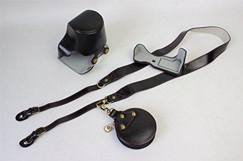 EOS M6 Case, BolinUS Handmade PU Leather FullBody Camera Cas