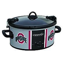 Crock-Pot Ohio State Buckeyes Collegiate 6-Quart Cook & Carry Slow Cooker