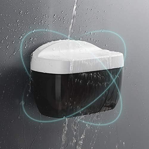 トイレットペーパーホルダー、壁掛けトイレットペーパーディスペンサー、防水収納ボックスポータブルペーパーホルダー、ホテルショッピングモールバンク用ホームバスルーム