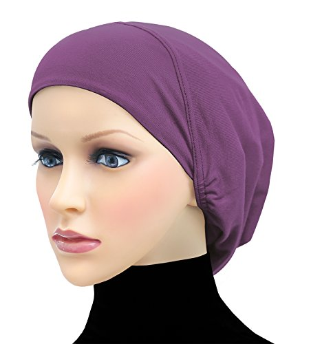 Middle Eastern Mall Cotton Beanie Snood Large Hijab Chemo Cap