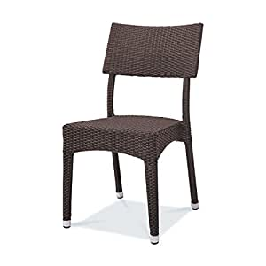 Tarrison Products FN24911 Indo Coffee Color Brentwood Indoor/Outdoor Wicker Chairs