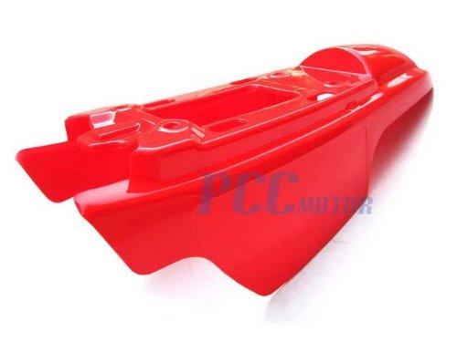 4L PS37 YAMAHA PW50 PW 50 PLASTIC SEAT GAS TANK KIT Red