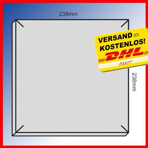 10 filtri originali per ventola da bagno LIMODOR F/M Limot Compact, 238 x 238 mm, di ricambio, art. Nr.: 00070