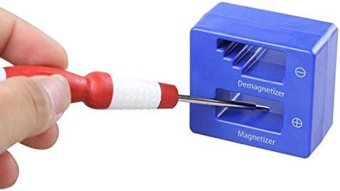 1x Magnetizer Demagnetizer Magnétique Pick Up à Outils Tournevis Conseils Vis