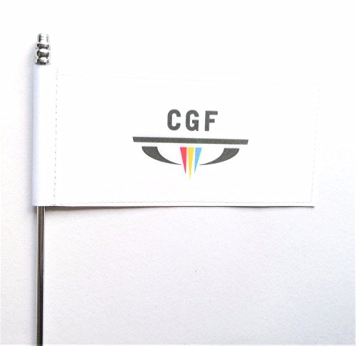 Commonwealth Games Federation CGF Ultimate Table Desk Flag
