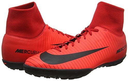 Hombre Rojo DF fútbol Carmesí Botas para Nike Rojo Brillante de 616 Universitario Vi Negro Victory Mercurialx TF w1HvBzq