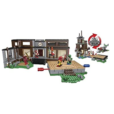 Mega Bloks Power Rangers Samurai HQ Battle: Toys & Games