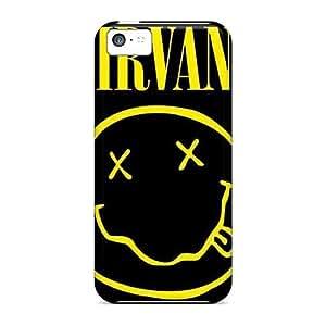 Premium Durable Nirvana Fashion Tpu Iphone 5c Protective Case Cover