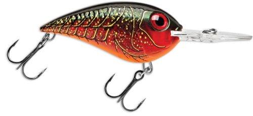 Rapala Crankin' Rap 5 Fishing Lure, Red Crawdad