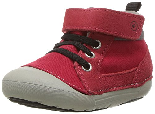 Stride Rite Baby Soft Motion Danny Ankle Boot, Red, 5 Medium US Toddler]()