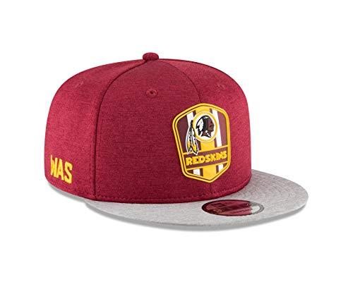 New Era Washington Redskins 2018 NFL Sideline Road Official 9FIFTY Snapback Hat