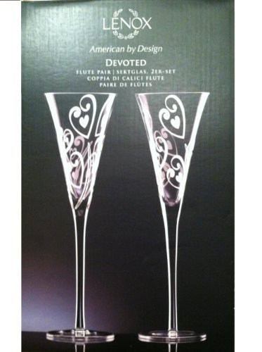 Lenox Devoted Flute Pair Non-lead Crystal (2 Pcs)