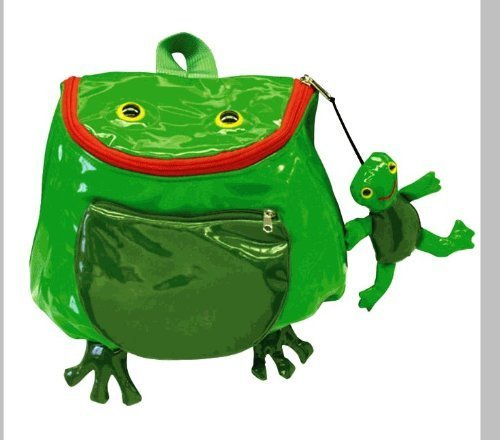 Green Kidorable (Kidorable Frog Backpack, Green, One Size by Kidorable)