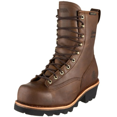 "Chippewa Men's 8"" Waterproof Steel Toe EH Lace-to-Toe 731..."